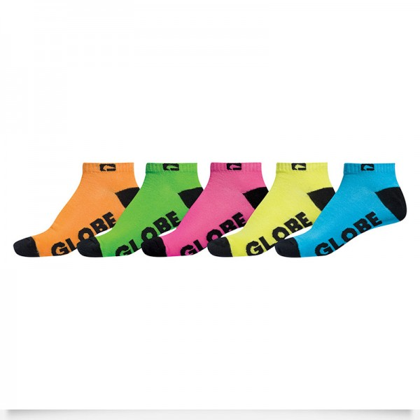 Chaussettes KIDS NEON ANKLE Assorted