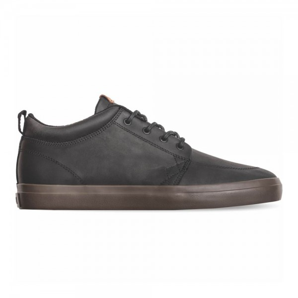 GS CHUKKA Black Leather Choc