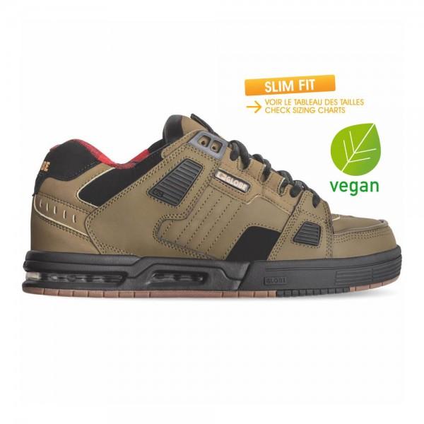 SABRE Olive Black Plaid (Vegan)