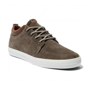 GS CHUKKA Walnut Off white