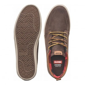 GS CHUKKA Dark Brown Plaid