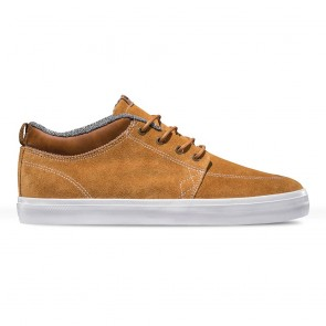 GS CHUKKA Dark Caramel White