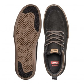 GS CHUKKA Black Suede Tobacco