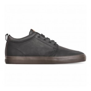 GS CHUKKA Black Leather Choc