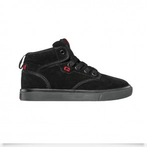 MOTLEY MID KIDS Black Black Red