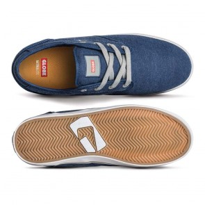 MOTLEY Blue Canvas Grey