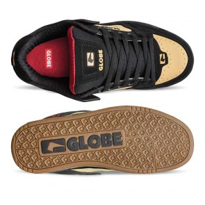TILT Black Khaki Red