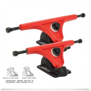 TRUCKS INVERTED 150mm Red Black