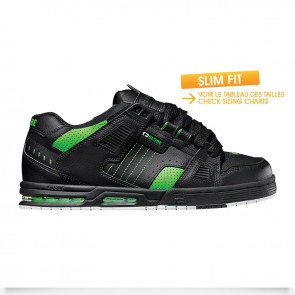 SABRE Black Moto Green