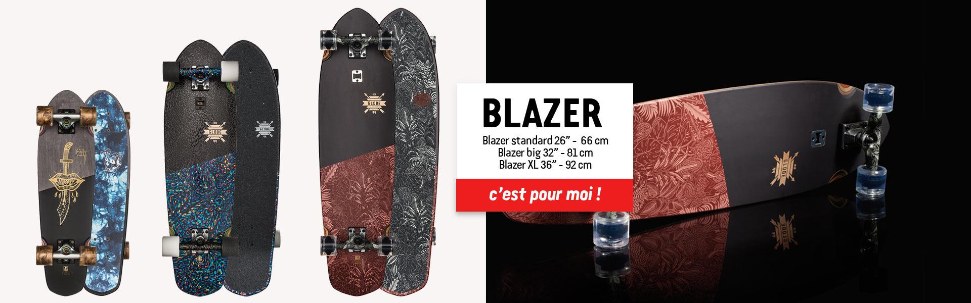 BLAZER skateboard globe