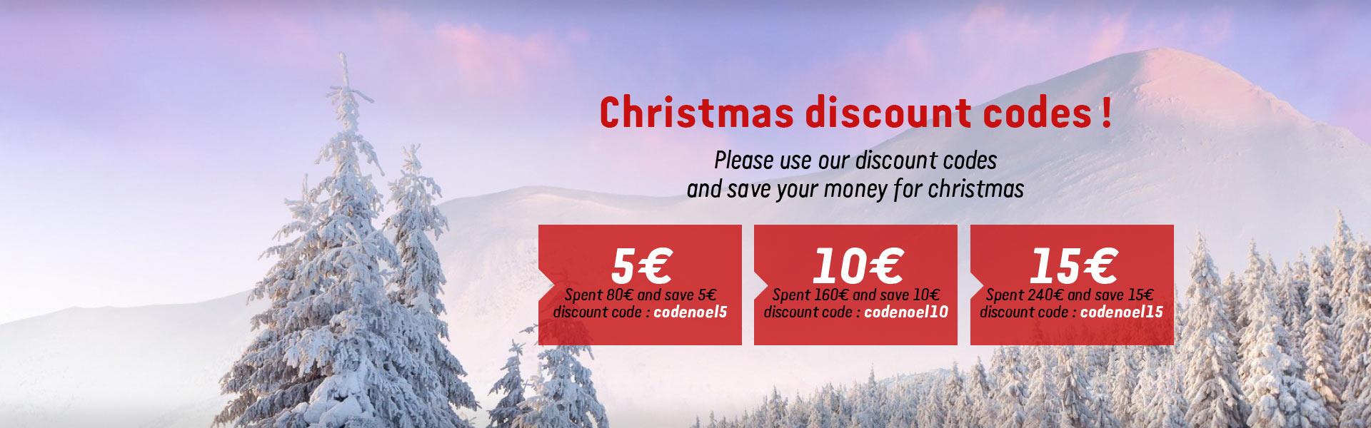 Xmas discount code